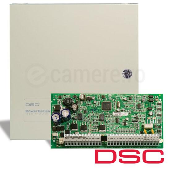 Centrala alarma 8 zone, extensibila 32, tastatura neinclusa - DSC PC1832-NK