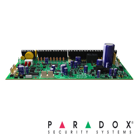 Centrala alarma 16 zone, extensibila la 192 zone, doar placa - Paradox EVOHD