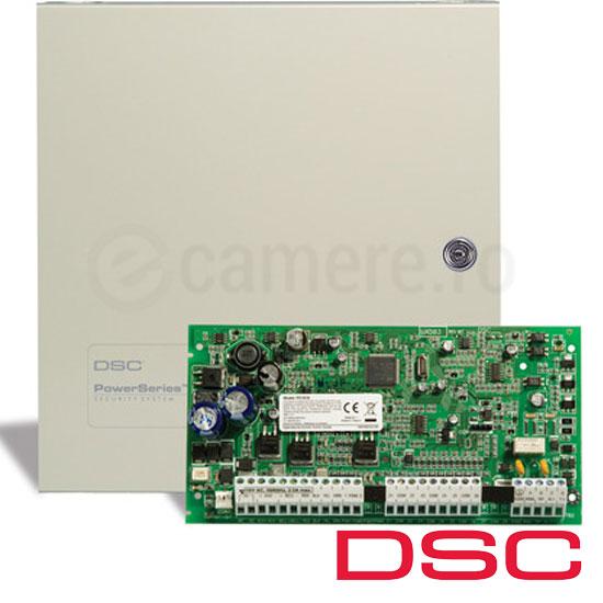 Centrala alarma 6 zone, extensibila 16, tastatura neinclusa - DSC PC1616-NK