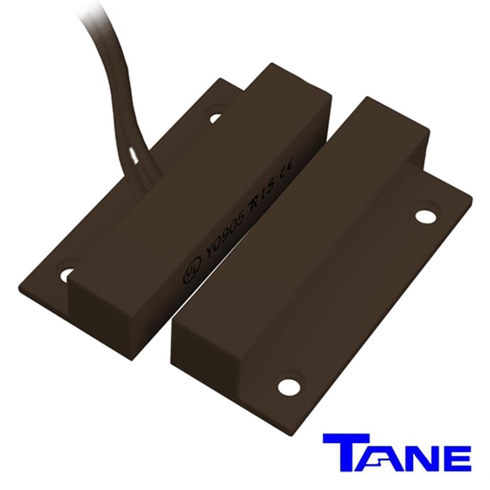 Contact magnetic aparent, maro, cu adeziv - Tane FM-106BR