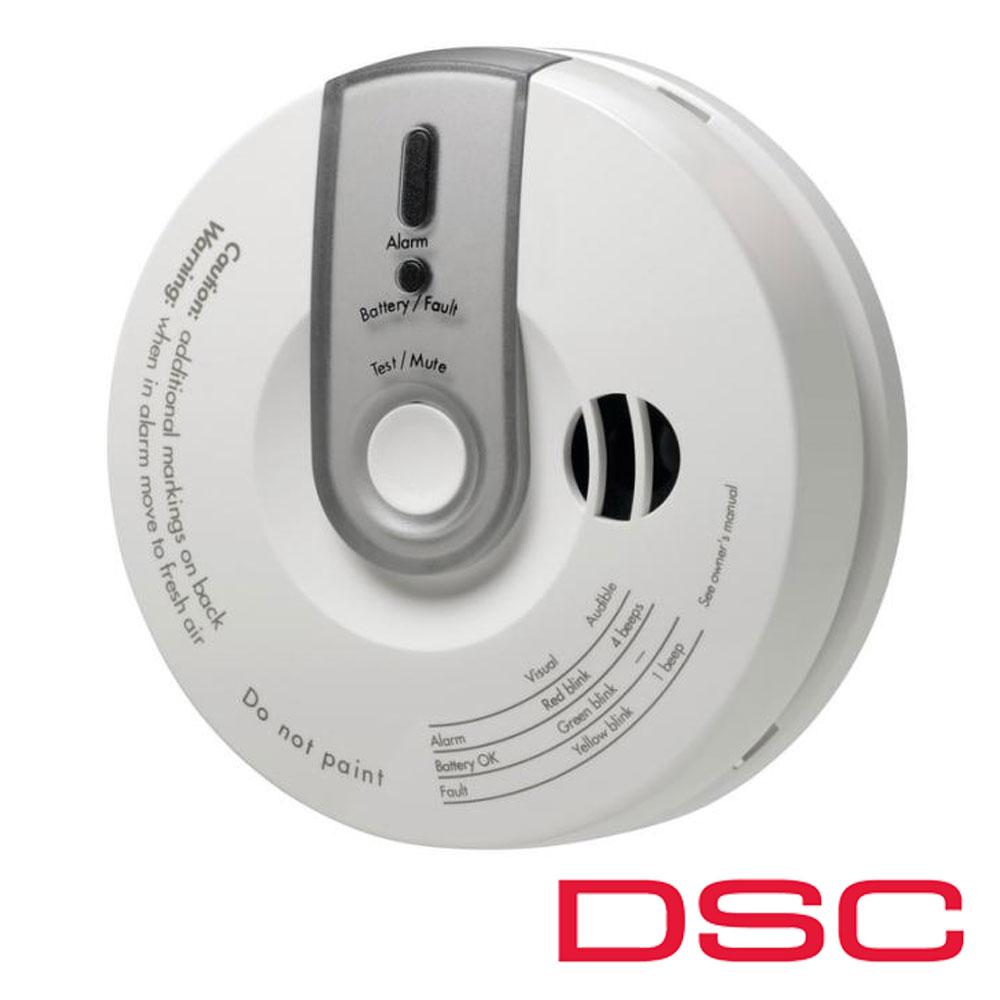 Detector de monoxid de carbon Wireless - DSC PG-8913