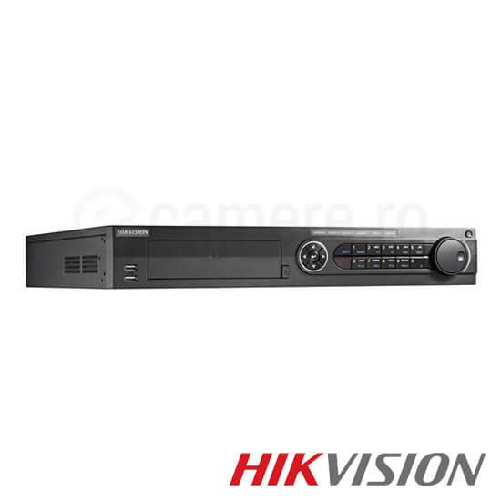 Cel mai bun pret pentru DVR HIKVISION DS-7316HQHI-F4-N cu tehnologie HDTVI, AHD, ANALOGICA,  si inregistrare 1080P pentru sisteme supraveghere video