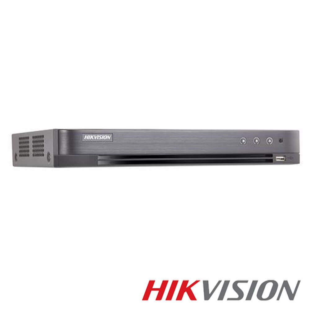 Cel mai bun pret pentru DVR HIKVISION DS-7216HQHI-K2/P cu tehnologie HDCVI, HDTVI, AHD, ANALOGICA,  si inregistrare 3 MP pentru sisteme supraveghere video