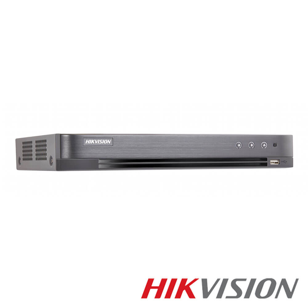 Cel mai bun pret pentru DVR HIKVISION DS-7216HUHI-K2/P cu tehnologie HDCVI, HDTVI, AHD, ANALOGICA, IP  si inregistrare 4K pentru sisteme supraveghere video