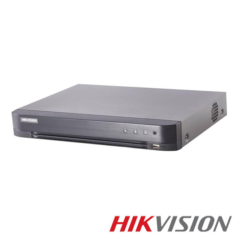 Cel mai bun pret pentru DVR HIKVISION DS-7204HUHI-K1/E cu tehnologie HDCVI, HDTVI, AHD, ANALOGICA, IP  si inregistrare 4K pentru sisteme supraveghere video