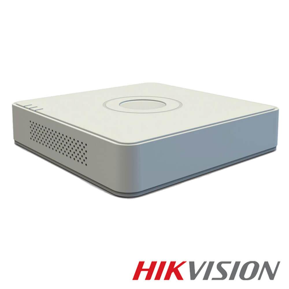 Cel mai bun pret pentru DVR HIKVISION DS-7104HQHI-K1 cu tehnologie HDCVI, HDTVI, AHD, ANALOGICA,  si inregistrare 3 MP pentru sisteme supraveghere video