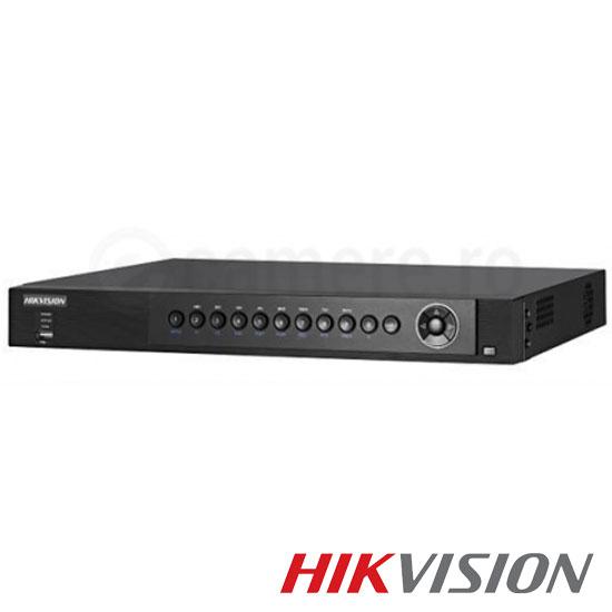 Cel mai bun pret pentru DVR HIKVISION DS-7280HUHI-F1-N-A cu tehnologie HDTVI, AHD, ANALOGICA, IP  si inregistrare 3 MP pentru sisteme supraveghere video