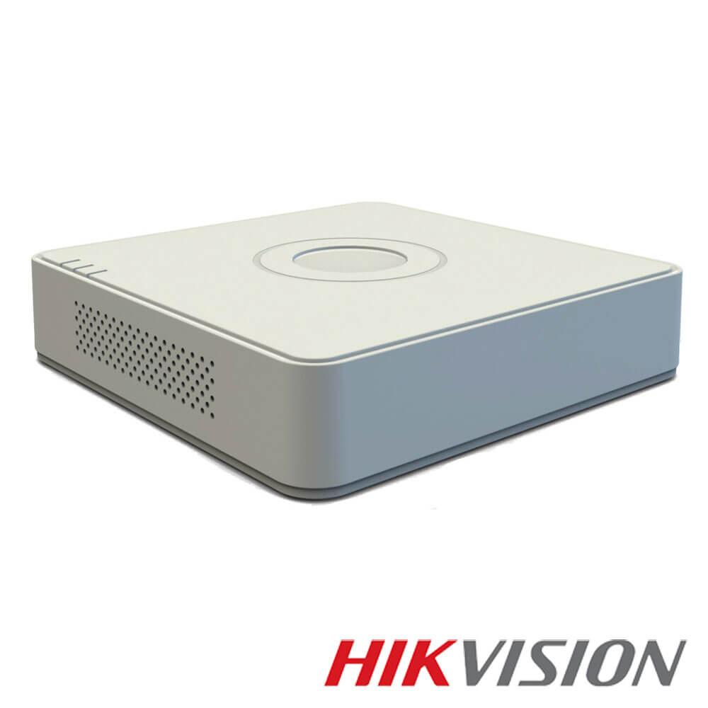 Cel mai bun pret pentru DVR HIKVISION DS-7116HQHI-F1/N cu tehnologie HDTVI, AHD, ANALOGICA,  si inregistrare 1080P pentru sisteme supraveghere video