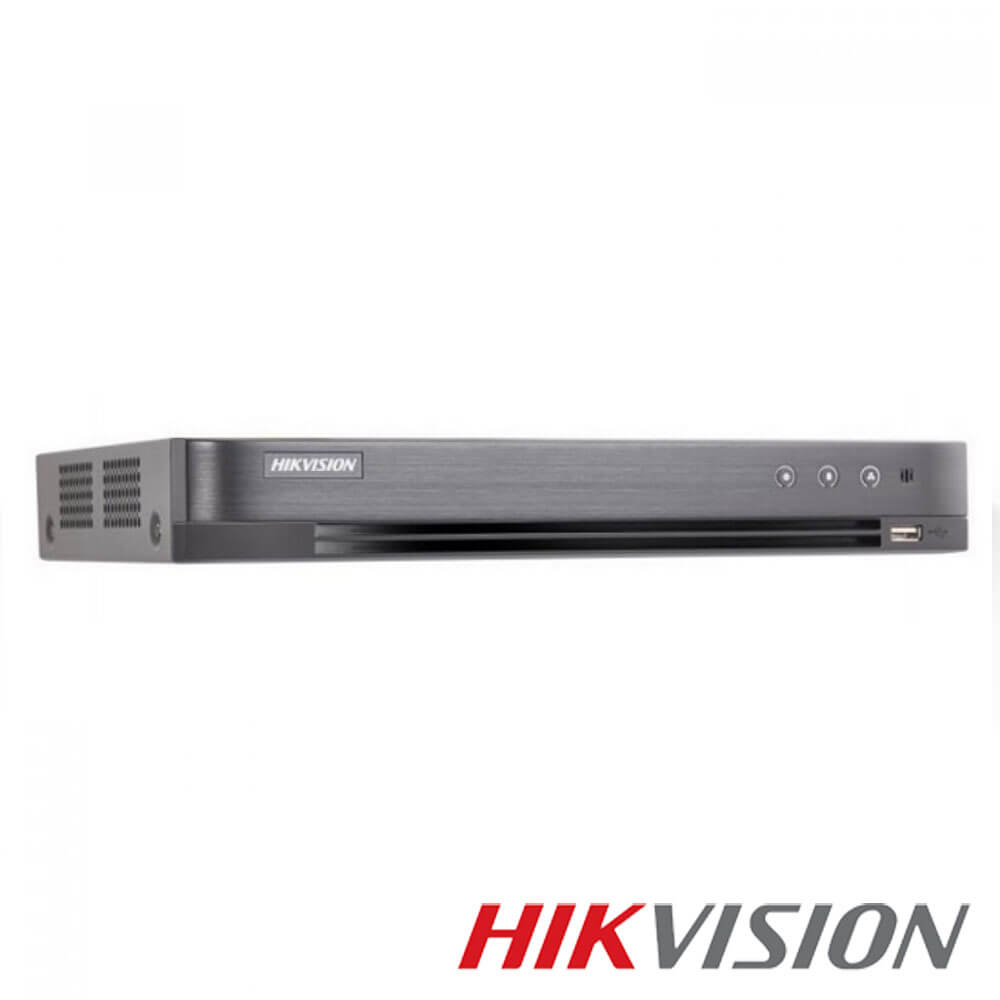 Cel mai bun pret pentru DVR HIKVISION DS-7216HQHI-K1 cu tehnologie HDCVI, HDTVI, AHD, ANALOGICA,  si inregistrare 3 MP pentru sisteme supraveghere video