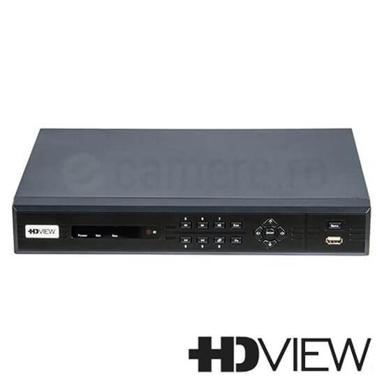 Cel mai bun pret pentru DVR HD-VIEW TVI-081 cu tehnologie IP  si inregistrare 1080P pentru sisteme supraveghere video