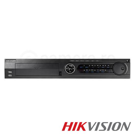 Cel mai bun pret pentru DVR HIKVISION DS-7316HUHI-F4 cu tehnologie HDTVI, AHD, ANALOGICA, IP  si inregistrare 3 MP pentru sisteme supraveghere video