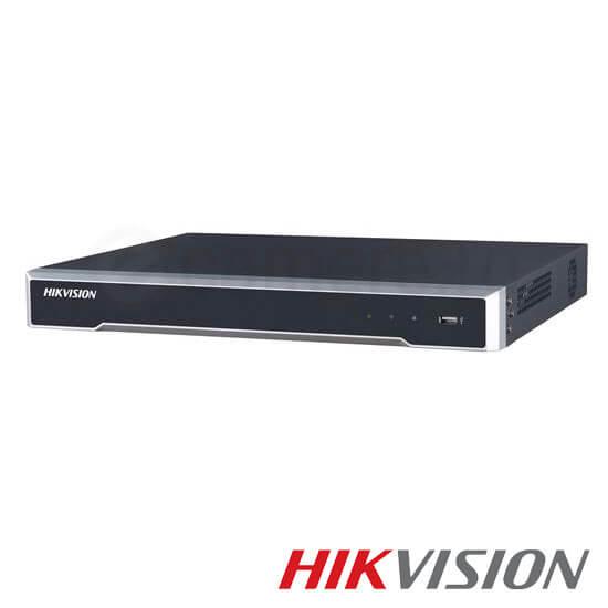 Cel mai bun pret pentru NVR-ul HIKVISION DS-7616NI-K2/16P cu 8 megapixeli, pentru sisteme supraveghere video IP