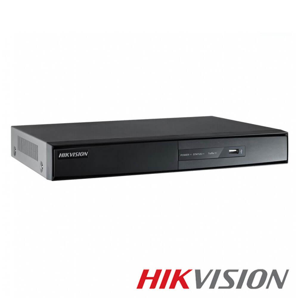 Cel mai bun pret pentru DVR HIKVISION DS-7216HQHI-F1/N cu tehnologie HDTVI, AHD, ANALOGICA,  si inregistrare 3 MP pentru sisteme supraveghere video