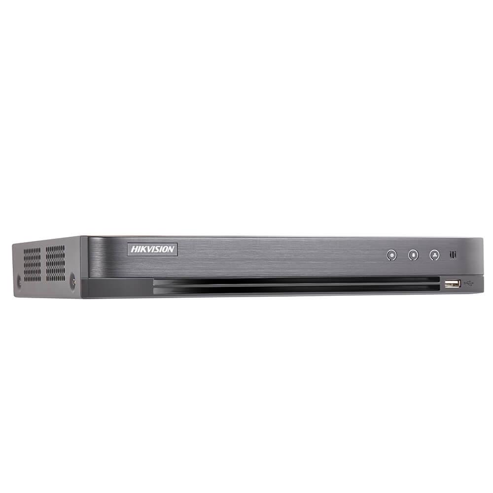 Cel mai bun pret pentru DVR HIKVISION IDS-7204HUHI-M1/SA cu tehnologie HDCVI, HDTVI, AHD, ANALOGICA, IP  si inregistrare 5 MP pentru sisteme supraveghere video