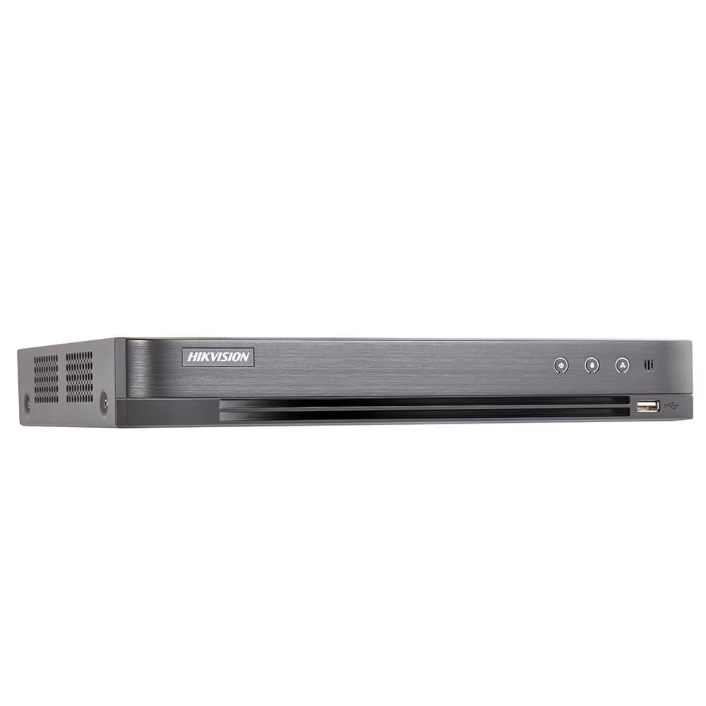 Cel mai bun pret pentru DVR HIKVISION IDS-7204HQHI-M1/FA cu tehnologie HDCVI, HDTVI, AHD, ANALOGICA, IP  si inregistrare 4 MP-N pentru sisteme supraveghere video
