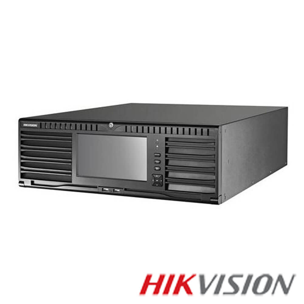 Cel mai bun pret pentru NVR-ul HIKVISION DS-96128NI-I24 cu 12 megapixeli, pentru sisteme supraveghere video IP