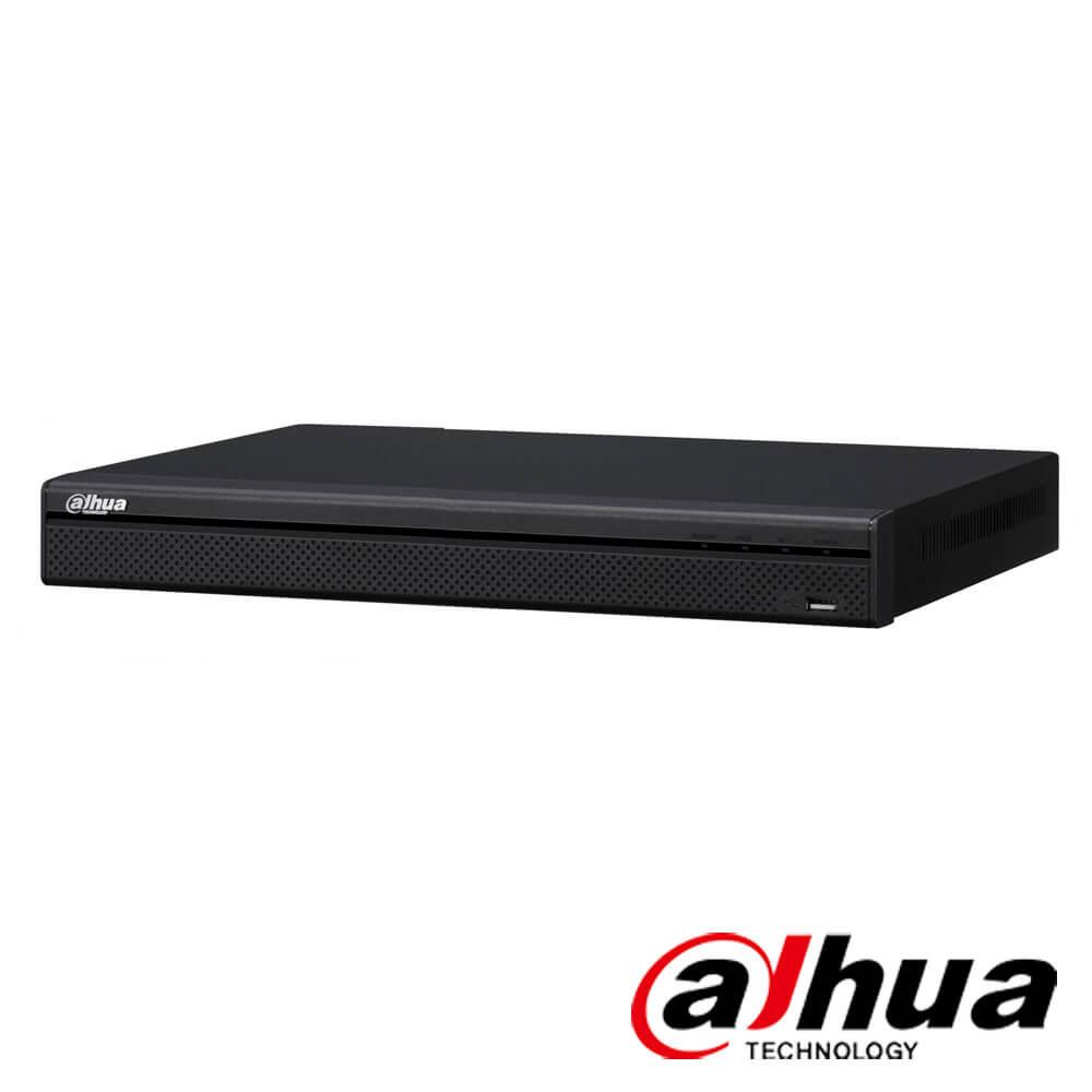 Cel mai bun pret pentru NVR-ul DAHUA NVR4216-4KS2 cu 8 megapixeli, pentru sisteme supraveghere video IP