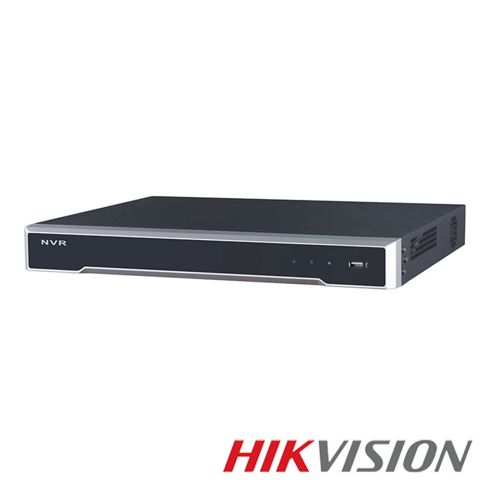 Cel mai bun pret pentru NVR-ul HIKVISION DS-7616NXI-I2/16P/4S cu 12 megapixeli, pentru sisteme supraveghere video IP