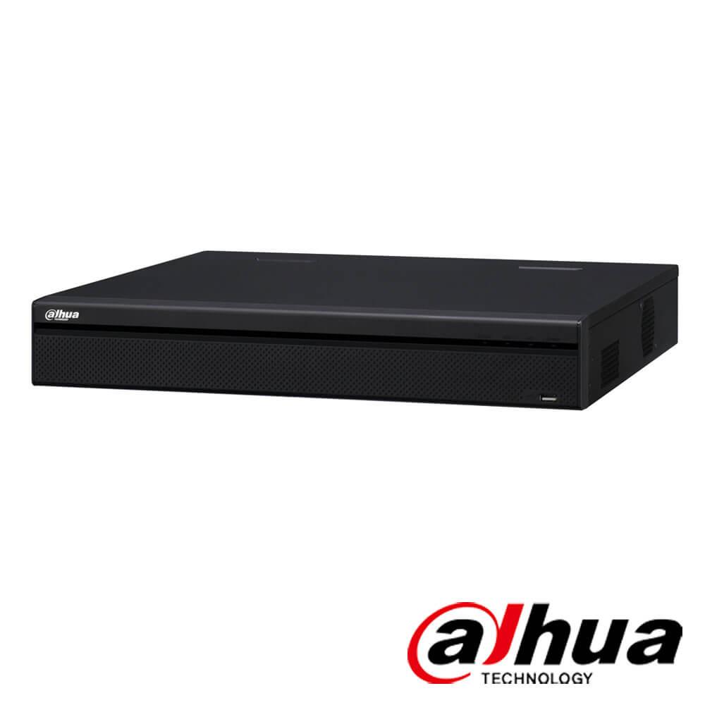Cel mai bun pret pentru NVR-ul DAHUA NVR5432-16P-4KS2 cu 12 megapixeli, pentru sisteme supraveghere video IP