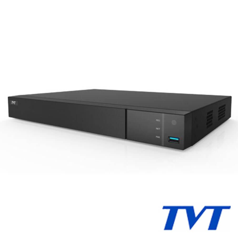 Cel mai bun pret pentru NVR-ul TVT TD-3208H2-8P cu 5 megapixeli, pentru sisteme supraveghere video IP