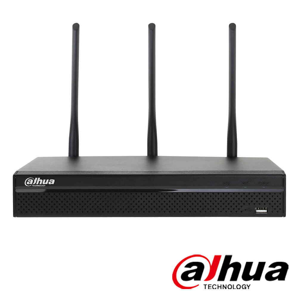 Cel mai bun pret pentru NVR-ul DAHUA NVR4104HS-W-S2 cu 5 megapixeli, pentru sisteme supraveghere video IP