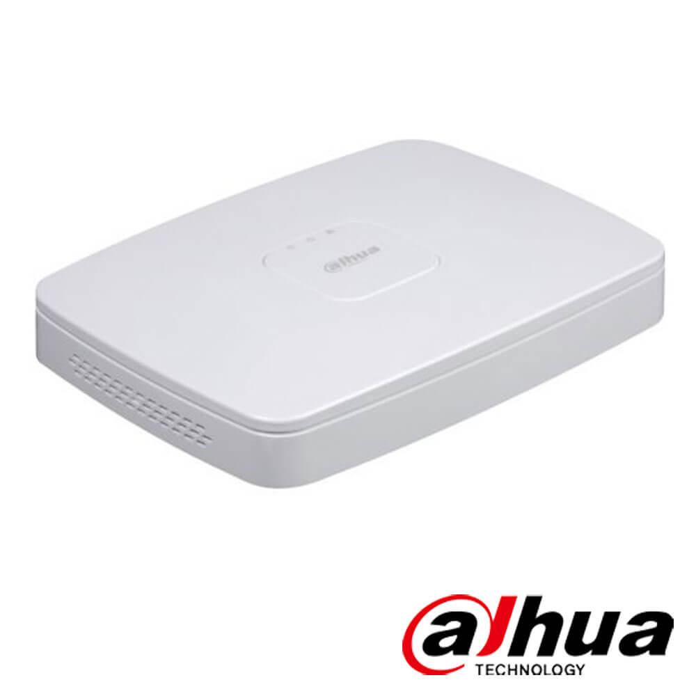 Cel mai bun pret pentru NVR-ul DAHUA NVR2108-8P-4KS2 cu 8 megapixeli, pentru sisteme supraveghere video IP