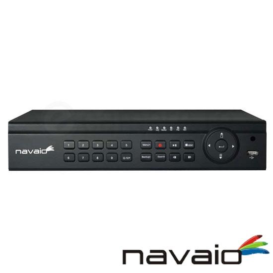 Cel mai bun pret pentru NVR-ul NAVAIO NGD-8104 cu 2 megapixeli, pentru sisteme supraveghere video IP