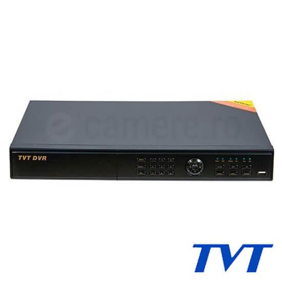 Cel mai bun pret pentru DVR TVT TD-2716TE-C cu tehnologie HDTVI, AHD, ANALOGICA, IP  si inregistrare 1080P pentru sisteme supraveghere video