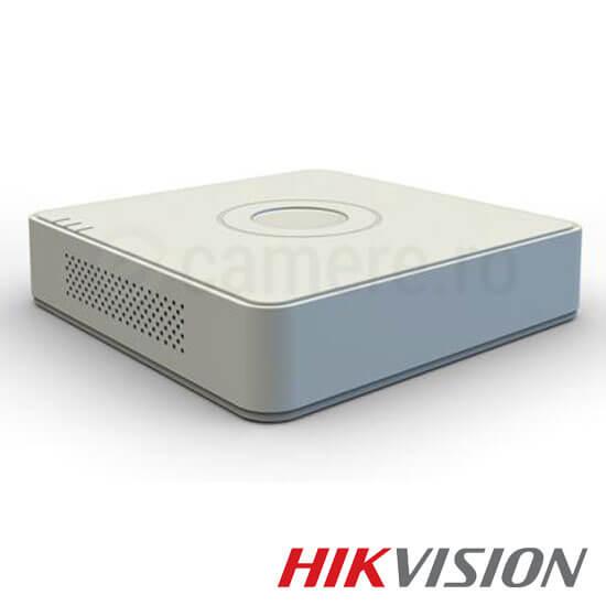 Cel mai bun pret pentru DVR HIKVISION DS-7104HQHI-F1/N cu tehnologie HDTVI, AHD, ANALOGICA,  si inregistrare 1080P pentru sisteme supraveghere video