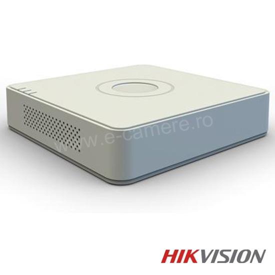 Cel mai bun pret pentru DVR HIKVISION DS-7108HGHI-F1 cu tehnologie HDTVI, AHD, ANALOGICA,  si inregistrare 720P pentru sisteme supraveghere video