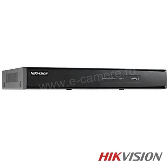 Cel mai bun pret pentru DVR HIKVISION DS-7216HQHI-F1 cu tehnologie HDTVI, AHD, ANALOGICA, IP  si inregistrare 1080P pentru sisteme supraveghere video