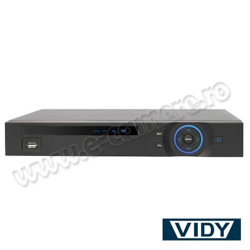Cel mai bun pret pentru DVR VIDY VDVR04TH cu tehnologie HDCVI, IP, ANALOGICA si inregistrare 720P pentru sisteme supraveghere video