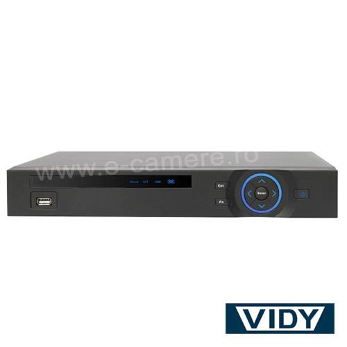 Cel mai bun pret pentru DVR VIDY VDVR08TH cu tehnologie HDCVI, IP, ANALOGICA si inregistrare 1080P pentru sisteme supraveghere video