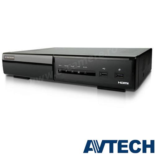 Cel mai bun pret pentru NVR-ul AVTECH AVH801 cu 1 megapixeli, pentru sisteme supraveghere video IP