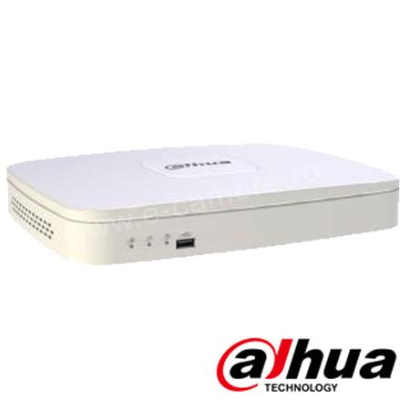 Cel mai bun pret pentru NVR-ul DAHUA NVR2104-P cu 2 megapixeli, pentru sisteme supraveghere video IP