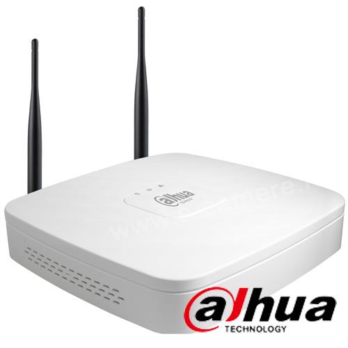 Cel mai bun pret pentru NVR-ul DAHUA NVR4104-W cu 5 megapixeli, pentru sisteme supraveghere video IP