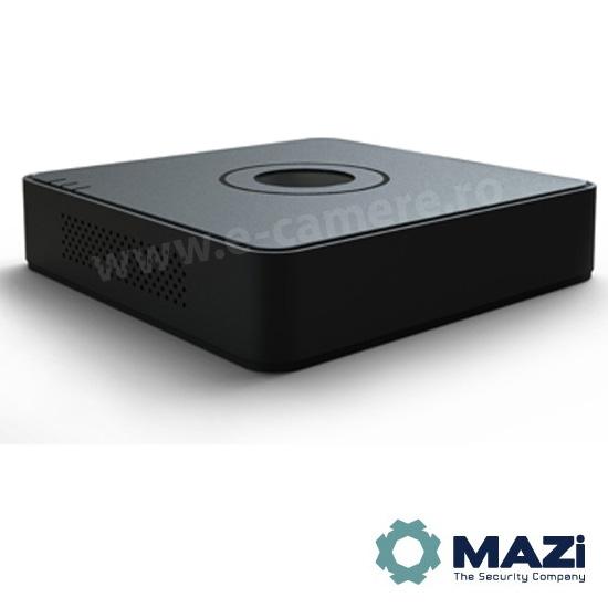 Cel mai bun pret pentru NVR-ul MAZI IMVR-04POE cu 2 megapixeli, pentru sisteme supraveghere video IP