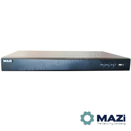 Cel mai bun pret pentru NVR-ul MAZI INVR-04POE cu 5 megapixeli, pentru sisteme supraveghere video IP