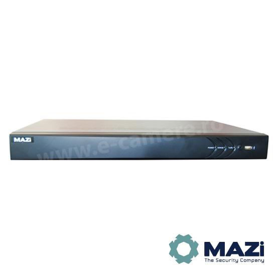 Cel mai bun pret pentru NVR-ul MAZI INVR-08AL2POE cu 2 megapixeli, pentru sisteme supraveghere video IP