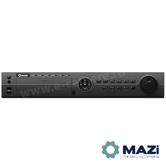 Cel mai bun pret pentru NVR-ul MAZI INVR-16A cu 5 megapixeli, pentru sisteme supraveghere video IP