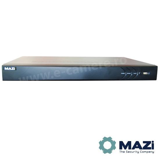 Cel mai bun pret pentru NVR-ul MAZI INVR-16AL2 cu 5 megapixeli, pentru sisteme supraveghere video IP