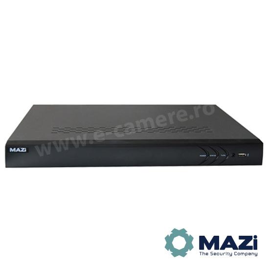 Cel mai bun pret pentru NVR-ul MAZI INVR-16AY cu 2 megapixeli, pentru sisteme supraveghere video IP