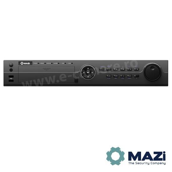 Cel mai bun pret pentru NVR-ul MAZI INVR-16POE cu 5 megapixeli, pentru sisteme supraveghere video IP