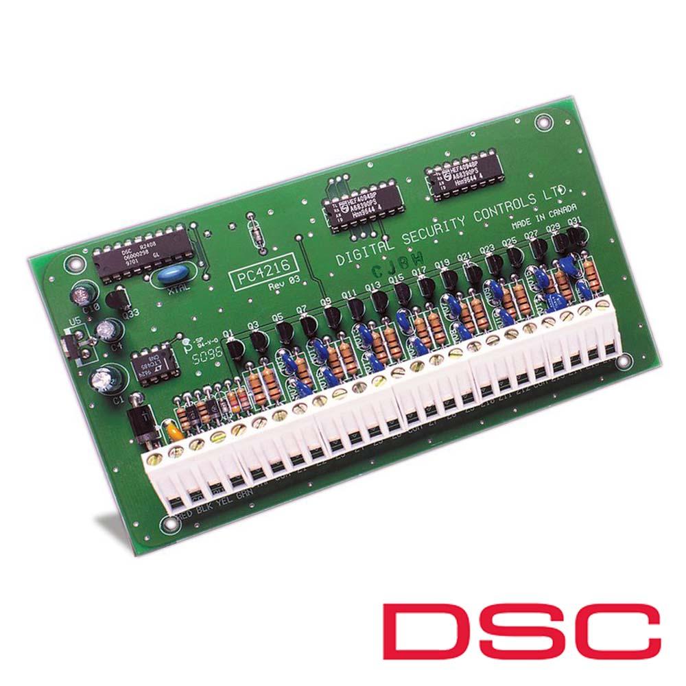 Modul 16 iesiri de curent mic - DSC PC-4216