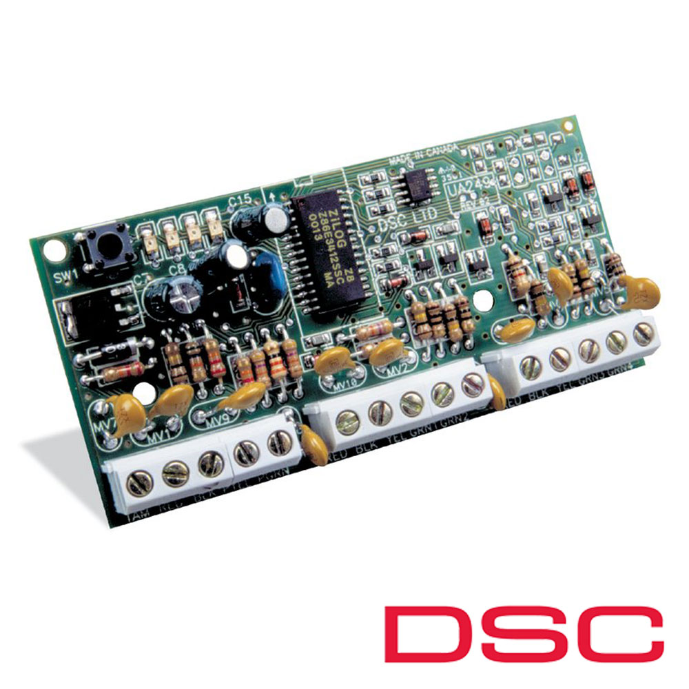 Modul de extensie zone 8 zone, pe fir - DSC PC-5108