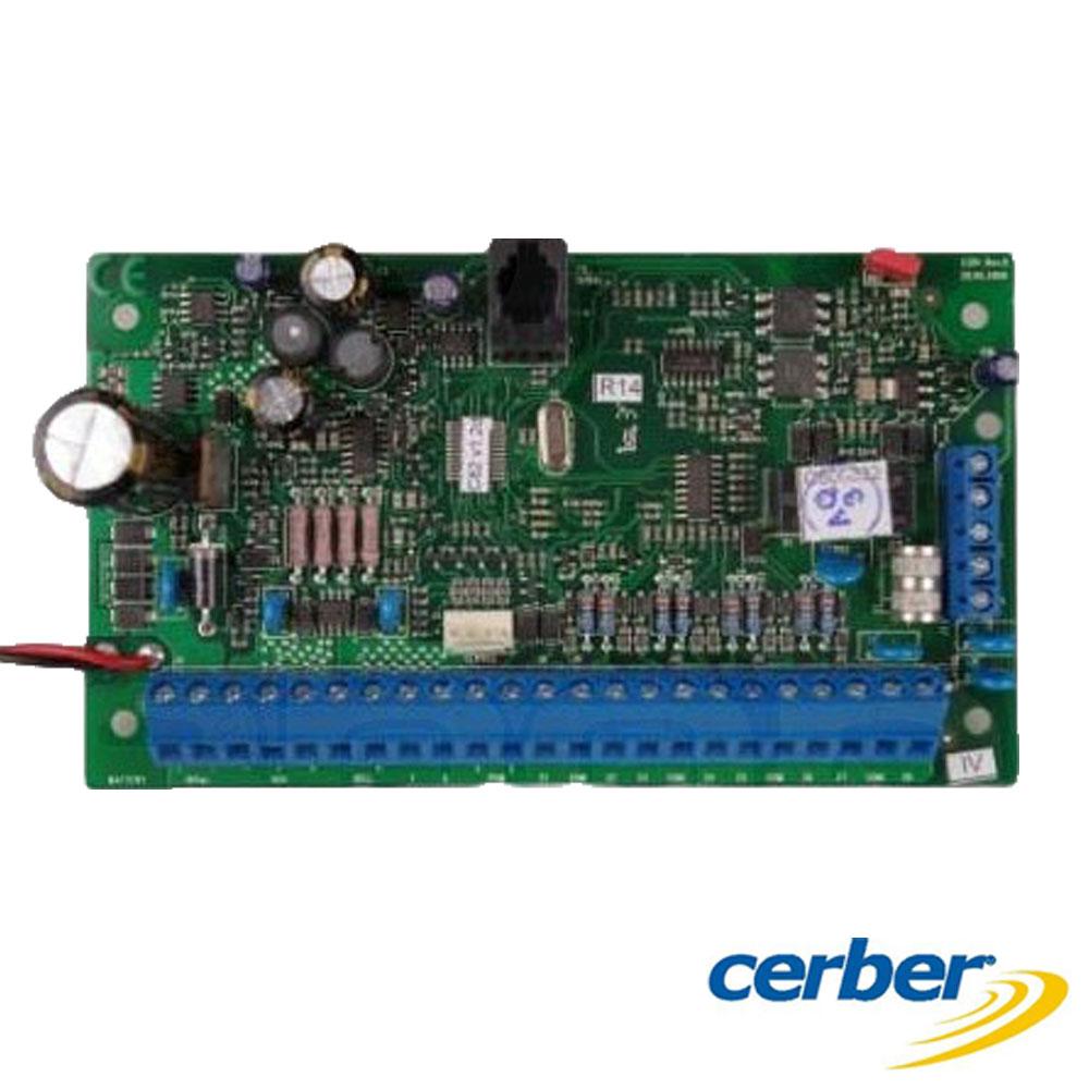 Modul expandor de zone fără fir plus antenă RF - Cerber M816W PCB