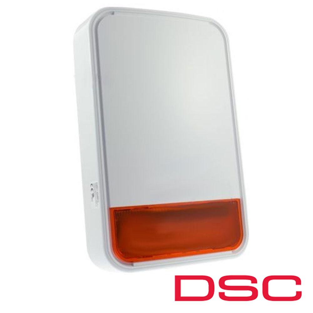 Sirena exterior Wireless NEO PowerG, 110 dB, lampa led, supervizata - DSC PG-8911A