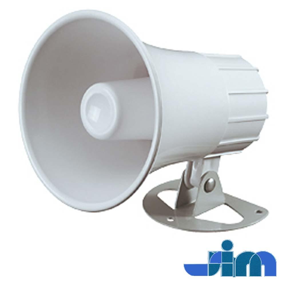 Sirena interior tip horn, alba - Stim S1201