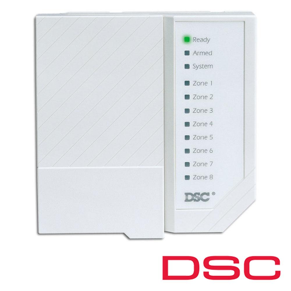 Tastatura LED, 8 zone - DSC PC-1555