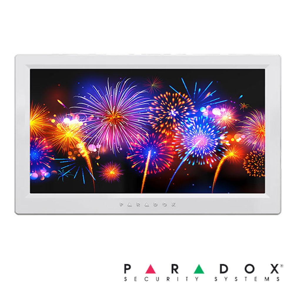 Tastatura Touch Screen 7 inch, pe fir, Slot Card, 128 zone - Paradox TM70